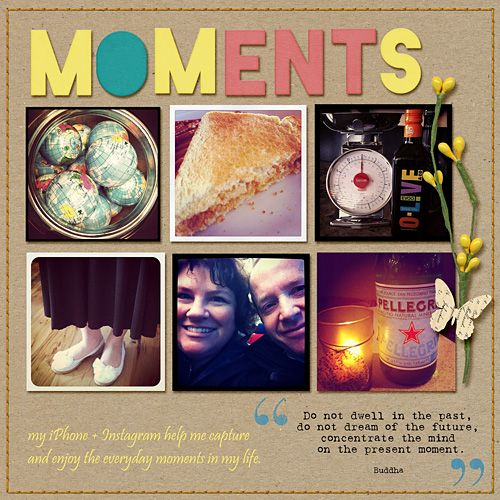 Layout by Katie. Supplies: Daydream by Tracy Martin Designs; Fonts: Pristina.