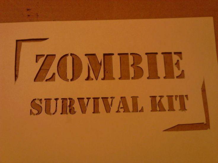 zombie party games (& bag idea)