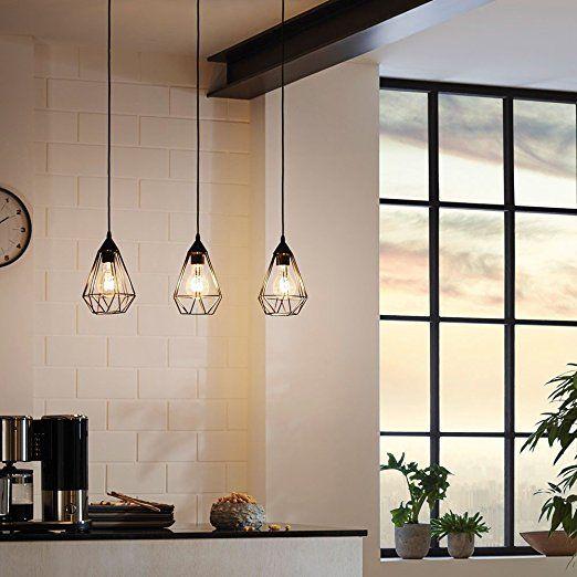 Licht-Trend M / Archaic / Hängeleuchte im Vintage-Look / Schwarz / Hängelampe: Amazon.de: Küche & Haushalt