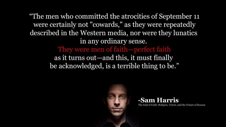 sam harris evil