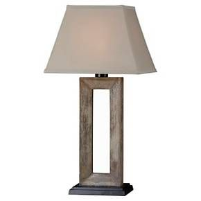 Bring the comfort of your living room outdoors with the unique and functional Kenroy Egress Outdoor Table Lamp. Designed specifically for the outdoors, this beautiful lamp is made from weather-safe materials that are resistant to wet and rust, while a heavy base helps the lamp withstand wind. The outdoor lamp boasts a rustic cut-out base and a tapered beige lamp shade. Light bulbs sold separately.