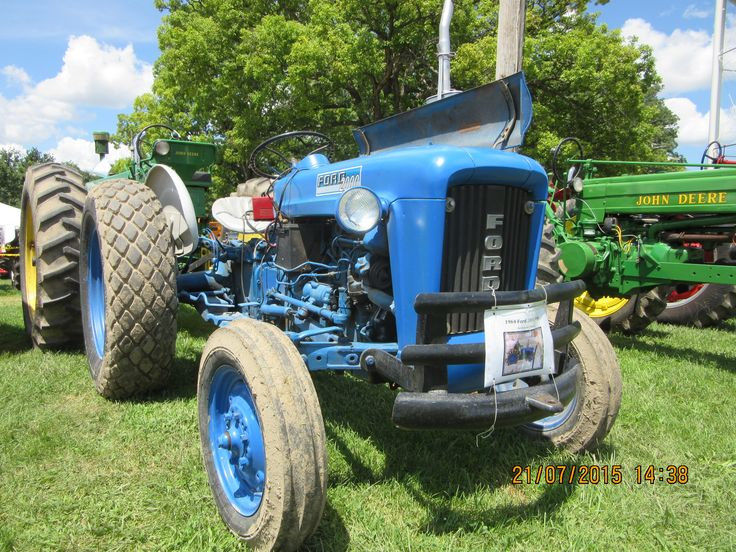 1963 Ford Tractor Model 2000 : Best images about tractors general on pinterest