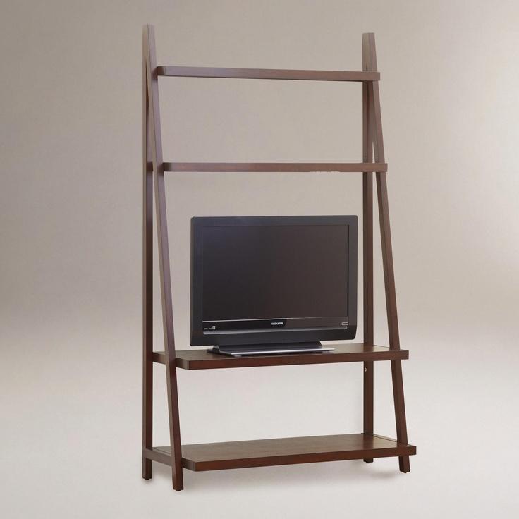 Urban Ladder Kitchen Shelf: Charles Slanted Media Shelf
