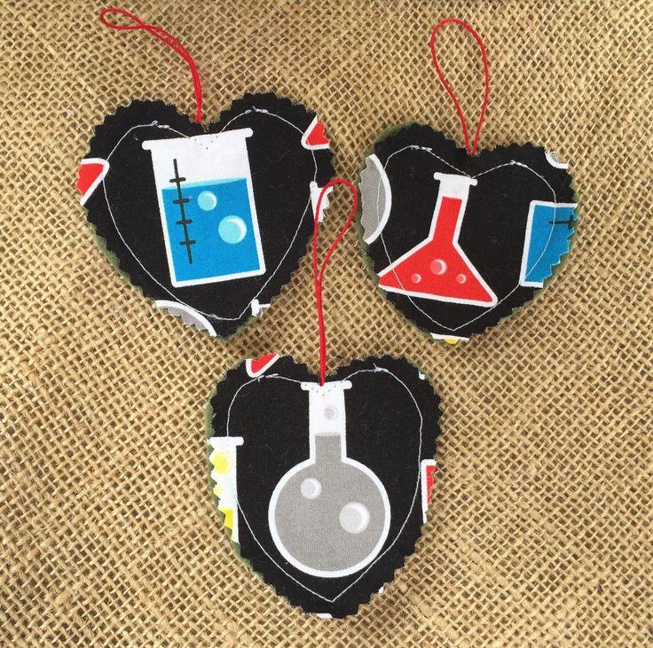 Science Ornaments, Chemistry Ornaments, Beaker Ornaments