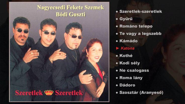 A Bódi Guszti és a Nagyecsedi Fekete szemek 2000-es Szeretlek,szeretlek című lemeze.