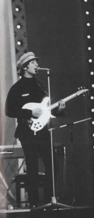 John and his second Rickenbaker 325