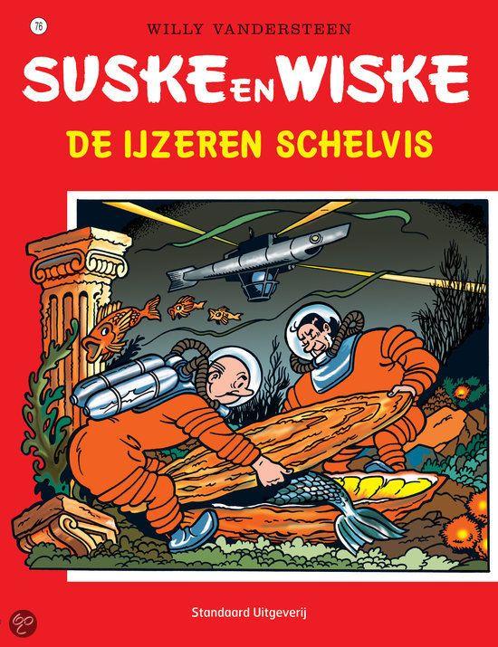 76 - Suske en Wiske - De ijzeren schelvis