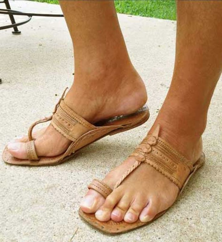 Handmade Ancient Buffalo Leather Hippie Toeloop Sandal -Tribal Man And Woman  Wore Them Thousands Of