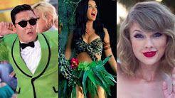 (7) videos musicales mas vistos en youtube 2016 - YouTube