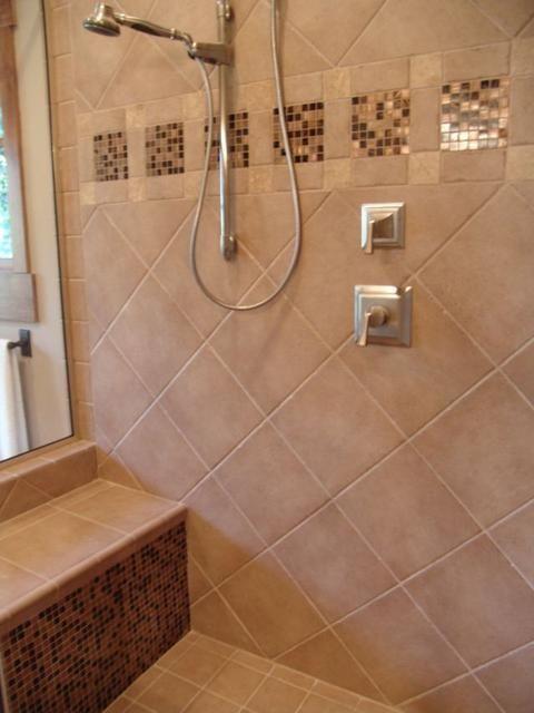 15 best bathroom ideas images on pinterest bathrooms for Master bathroom tile ideas