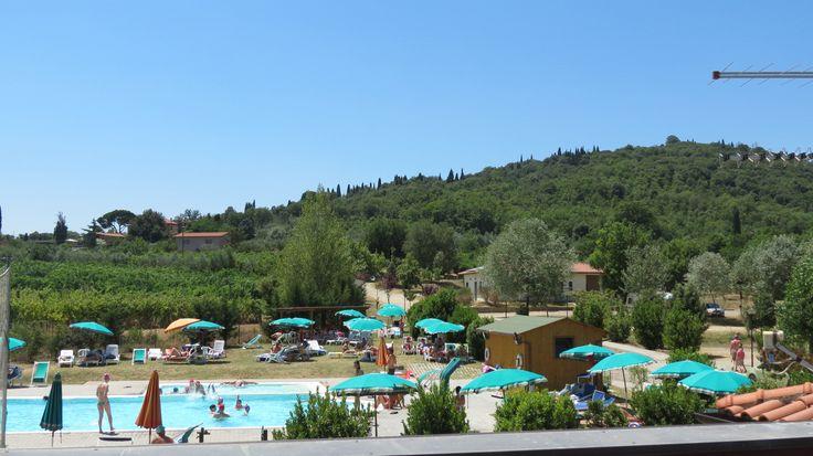Camping La Ginestre - Arezzo - 52 plaatsen - 1464 km - zoover 7,7 - reistijd 14:24 - heeft nog beperkt plaats
