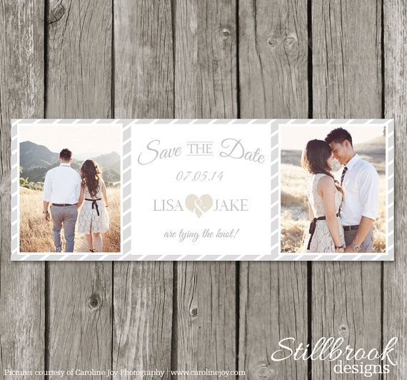 Save The Date Timeline Cover  Wedding Save