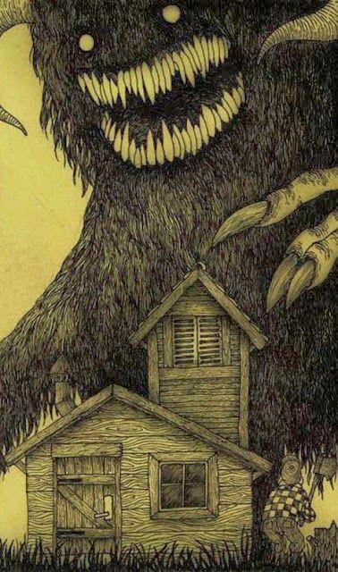 Artmazing!: Los monstruos de John Kenn Mortensen .