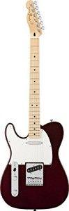 Fender Standard Telecaster, Left Handed, Maple Fingerboard - Midnight Wine