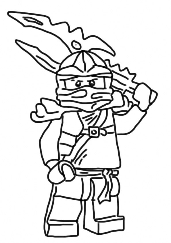 Ninjago Coloring Pages For Kids Ninjago Malvorlage Malvorlagen Ausdrucken