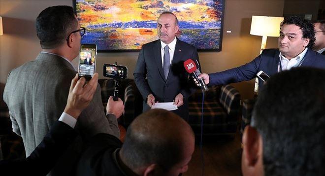 YENİ DÜNYA GÜNDEMİ ///  Çavuşoğlu, tarihi Kıbrıs zirvesinde konuştu: Bu bir final konferanstır