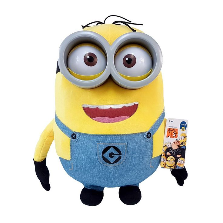 Despicable Me 3 Minions Dave Plush, Multicolor
