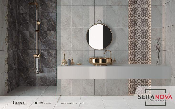 Evinize girer girmez kullandığınız banyo neden içinizi ferahlatmasın ki.. Yeni ürünümüz Eylül bayilerimizde. #seranova #seramik #eylül