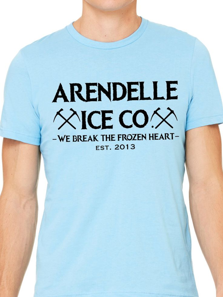Frozen Arendelle Ice Co Shirt - Disney Vacation Mens Tee Shirt - Sizes XS - 4XL - Made to Order- Disneyland Disney World Elsa Anna Kristoff by LaughingPlaceTees on Etsy https://www.etsy.com/listing/510160629/frozen-arendelle-ice-co-shirt-disney
