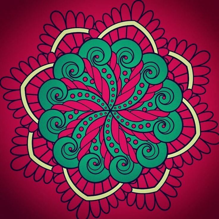 #曼荼羅 #art #アート #abstractart #artist #abstract #芸術 #絵 #style #デザイン #アーティスト #fineart #creative #artwork #heart #シンプル #abstractarts #minimalistic #design #lines #digital #digitalart #drawing #color #colorful #beautiful #おとなの塗り絵 by himajin_digital