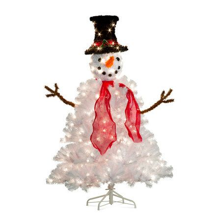 9 5 Foot Pre Lit Christmas Tree