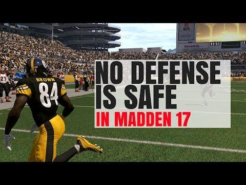 Breaking Down The Best Formation In Madden 17