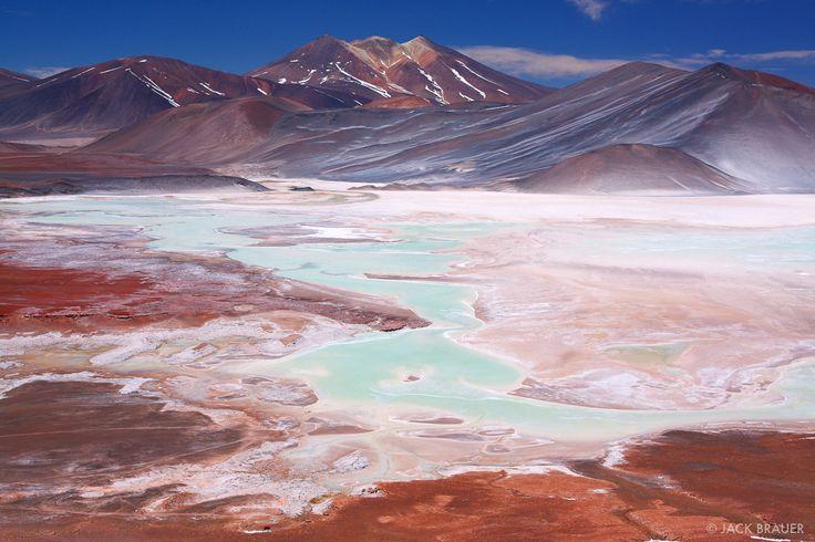 Salar de Aguas Calientes el norte de Chile