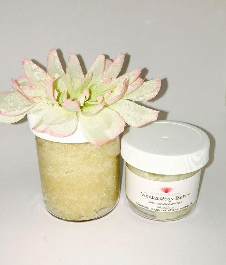 Vanilla Love Sugar Body Scrub & Vanilla Body Butter   | eBay