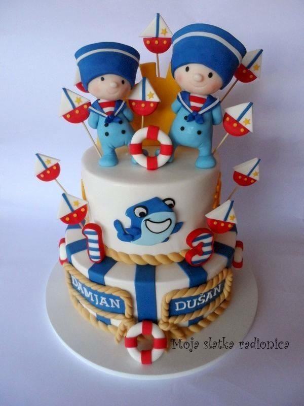 Sailors cake by Branka Vukcevic