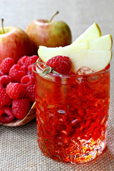 This Raspberry Cider Whiskey will make you think twice about not adding hard…