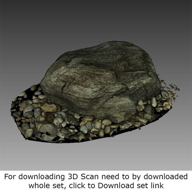 3D Scan Of Rock