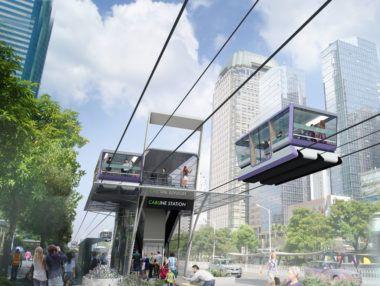 Cabline - urban ropeway transportation system