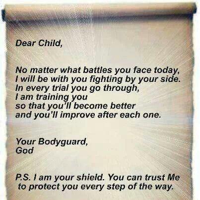 Letter from God | Women's Ministry | Pinterest