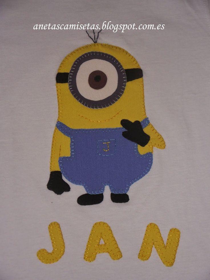 Camiseta de un divertido Minions.
