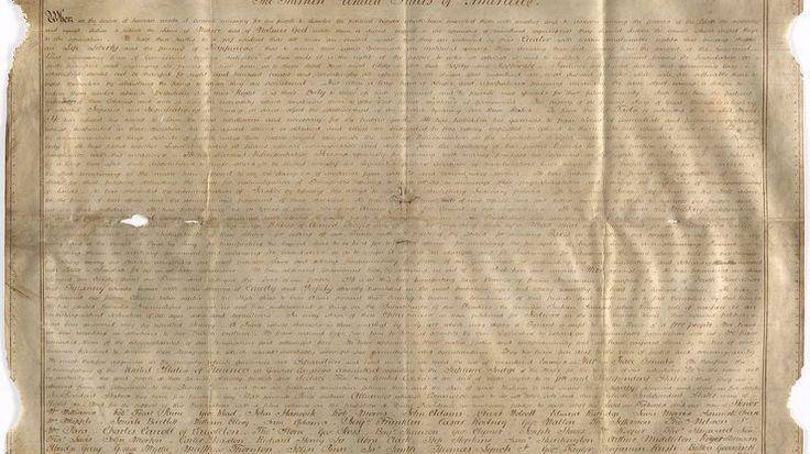 Pesquisadoras encontram segunda cópia de Declaração de Independência dos EUA