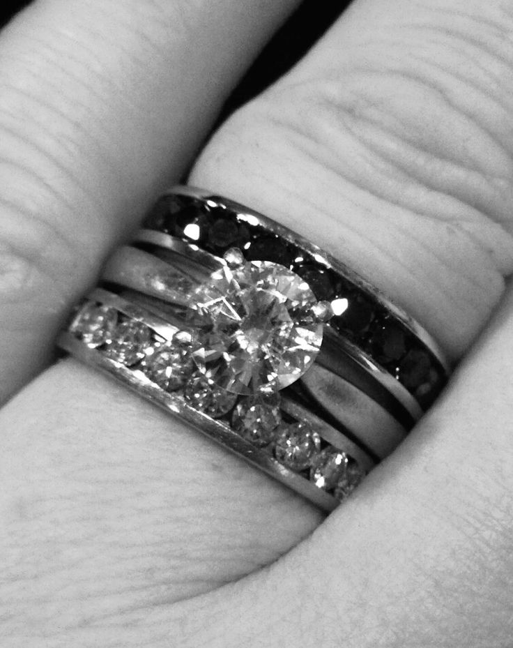 When my husband passed away, I had a widows ring made