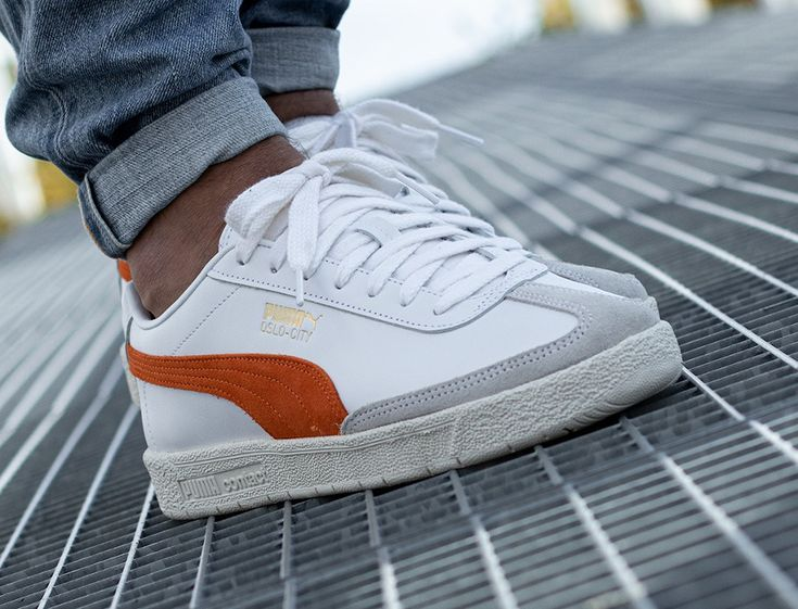 374800-06 : que vaut la Puma Oslo City PRM White Dragon Orange ...