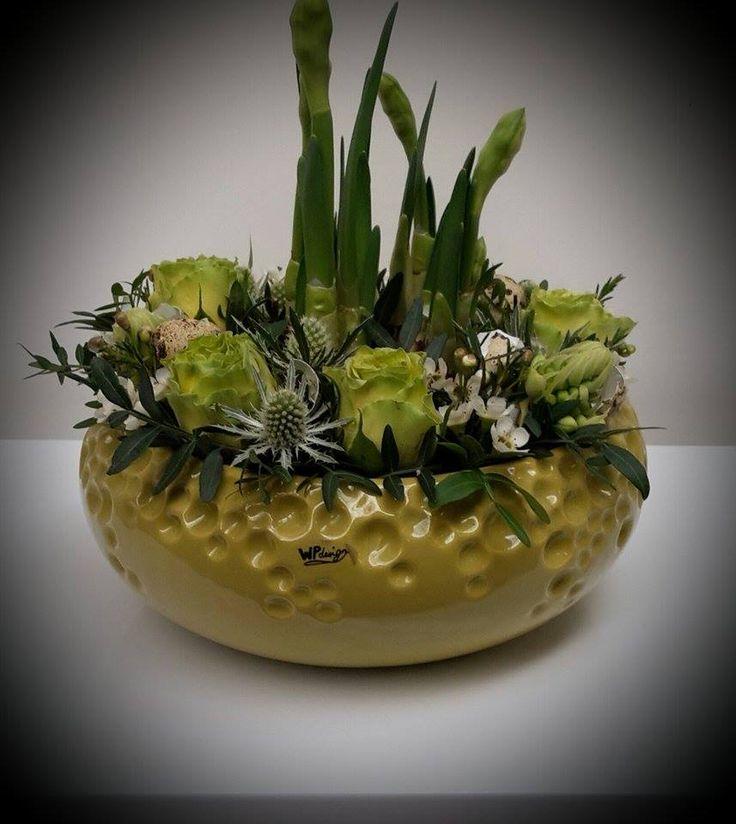 knollen en snijbloemen gecombineerd!  één en al lente