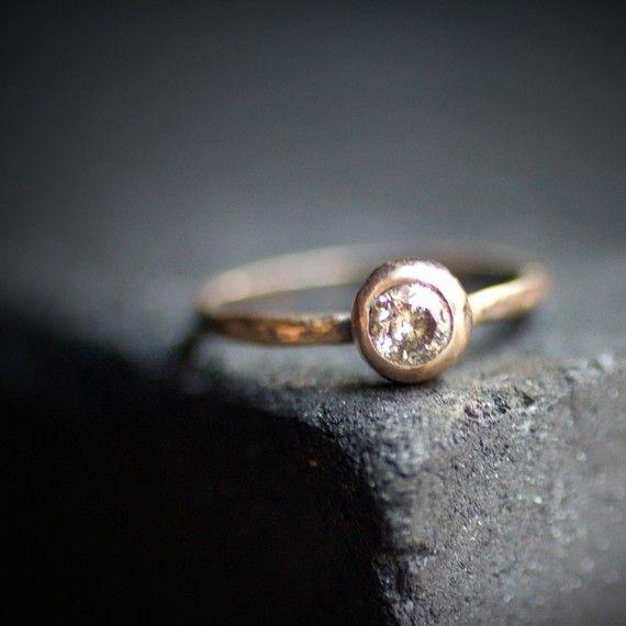 Sample Solitaire Diamond Ring.