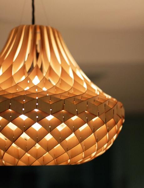 Delightful Swinburne Graduate Ed Linacre Is A Melbourne Based Industrial Designer.  This Weave Pendant Combines. Lighting ShadesBasket ...