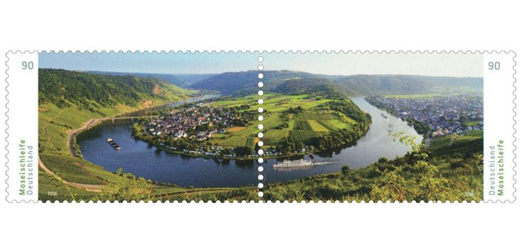COLLECTORZPEDIA Germany's Most Beautiful Panoramas: Moselschleife