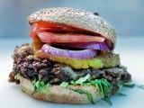 Cooking Channel serves up this Hawaiian Bulgogi Burger recipe plus many other recipes at CookingChannelTV.com
