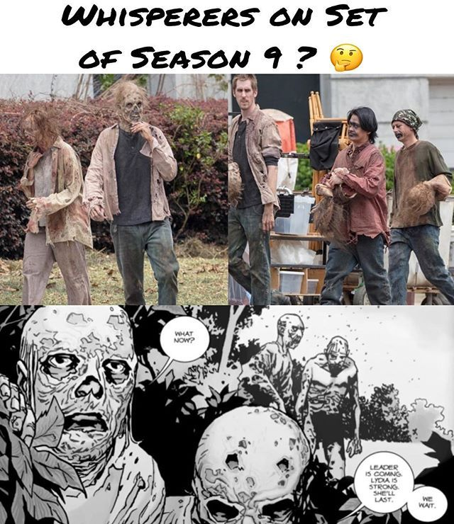 Are They Introducing The Whisperers The Walking Dead