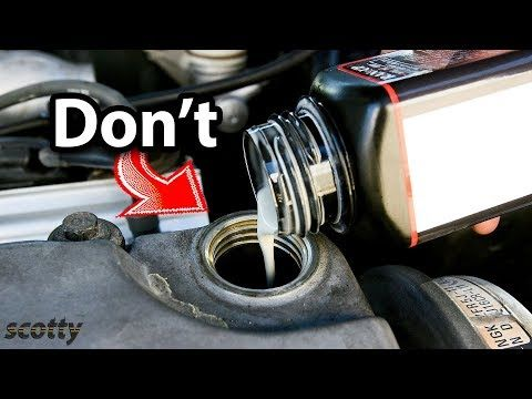 Never Use This Type of Engine Oil Additive in Your Car - YouTube
