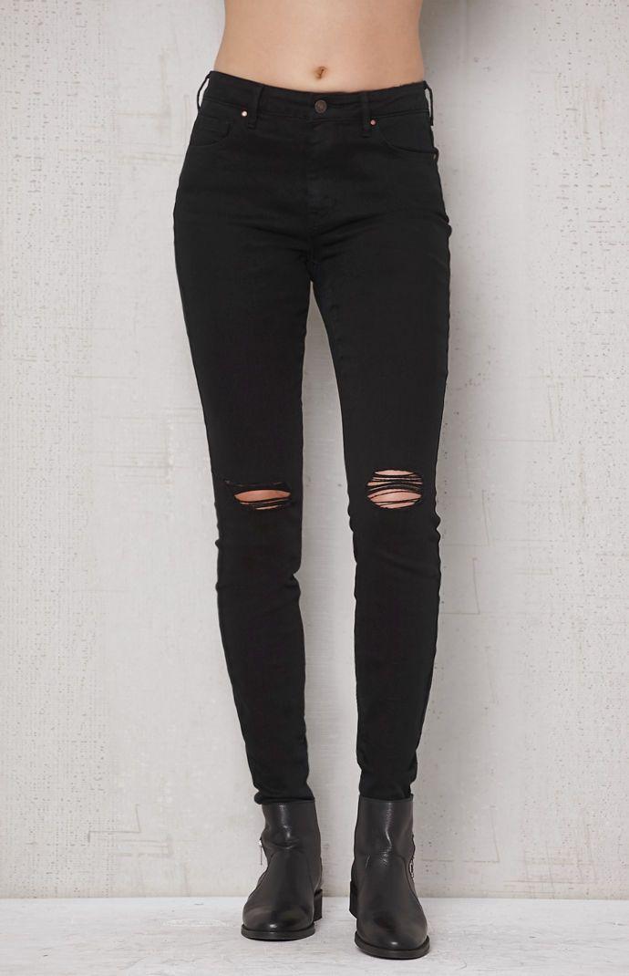 PacSun Worn Black High Rise Skinniest Jeans at PacSun.com  9daea75f8281