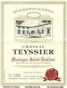Chateau Teyssier Montagne St. Emilion (2006), a Saint-Emilion Red Wine by Château Teyssier
