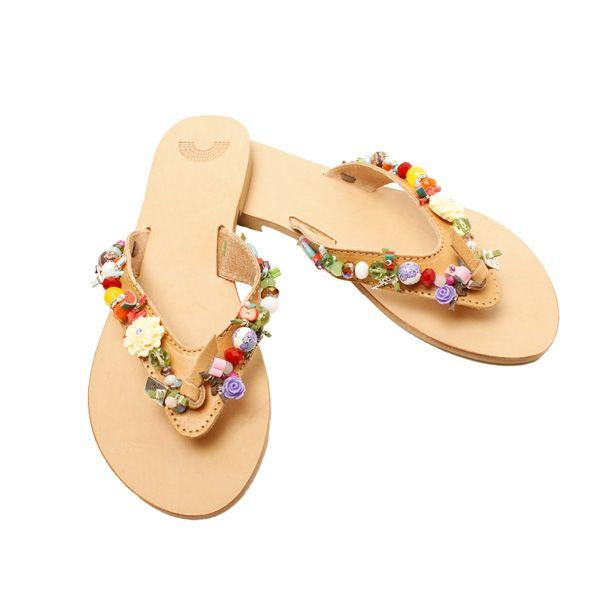 Iris sandals,embellished sandals, Boom and Mellow, Dubai