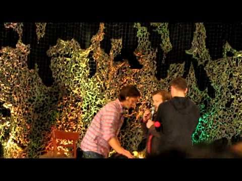 Jensen Ackles Birthday Surprise - BurCon 2012. Very funny but CRAZY LOUD. Trust me, turn your speakers down. F'n fangirls man. Sheesh.