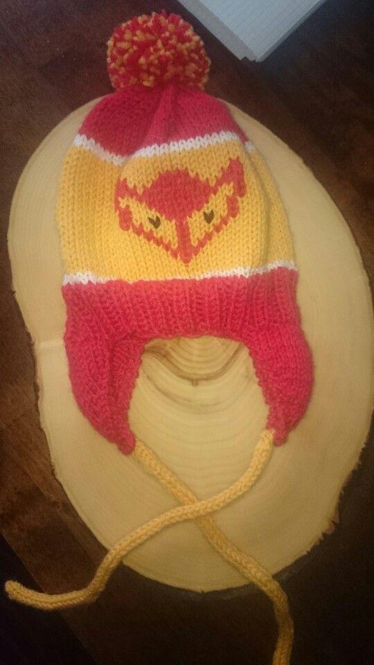 Kettukarkkipipo vauvalle :) #diy