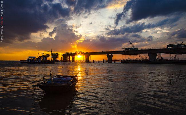 Hình ảnh cầu Tân Vũ - Lạch Huyện - Cây cầu vượt biển dài nhất Việt Nam - Hải Phòng AZ